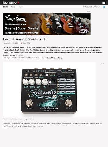 Bonedo.de Electro Harmonix Oceans 12