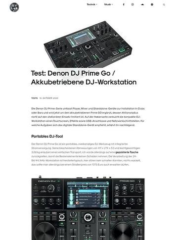 DJLAB Denon DJ Prime GO