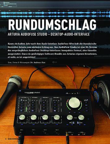 Sound & Recording Arturia AudioFuse Studio