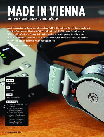 Sound & Recording Austrian Audio Hi-55