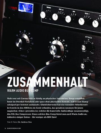 Sound & Recording Warm Audio Bus-Comp