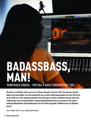Sound & Recording Toontrack EZbass