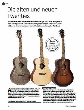 Gitarre & Bass Baton Rouge X11LS/PE, X11LS/FE & X11LM/F