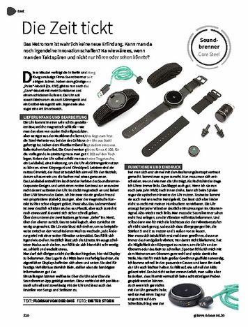 Gitarre & Bass Soundbrenner Core Steel