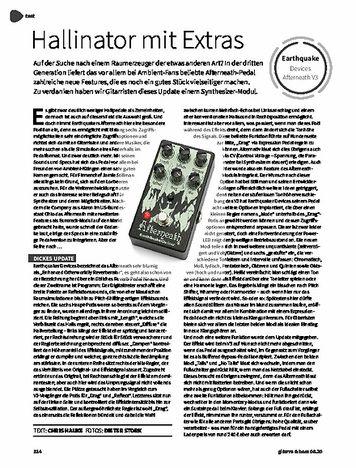 Gitarre & Bass Earthquaker Devices Afterneath V3