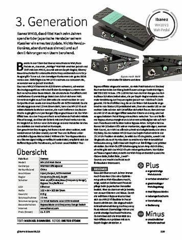 Gitarre & Bass Ibanez WH10 V3