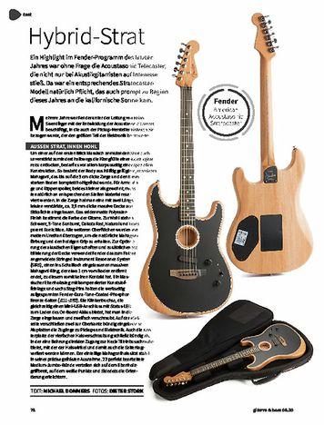 Gitarre & Bass Fender American Acoustasonic Stratocaster