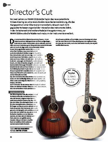 Gitarre & Bass Taylor Builder's Edition 816ce & 324ce