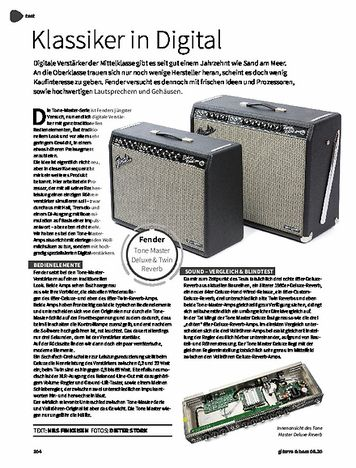 Gitarre & Bass Fender Tone Master Deluxe Reverb & Twin Reverb