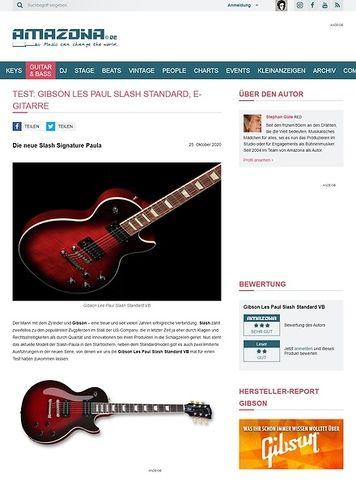Amazona.de Gibson Les Paul Slash Standard