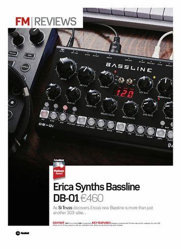 Future Music Erica Synths Bassline DB-01