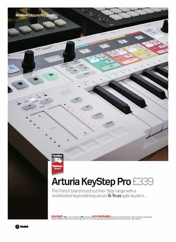 Future Music Arturia KeyStep Pro