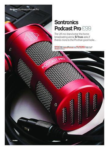 Future Music Sontronics Podcast Pro