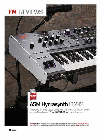 Future Music ASM Hydrasynth