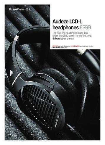 Future Music Audeze LCD-1 headphones