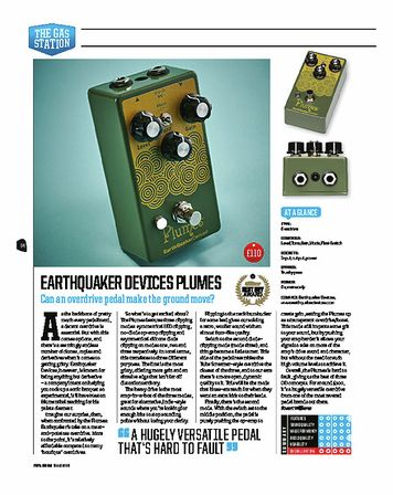 Total Guitar EarthQuaker Devices Plumes