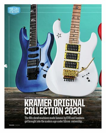Total Guitar Kramer Guitars Baretta Vintage