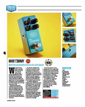 Total Guitar MXR Custom Shop Timmy CSP027