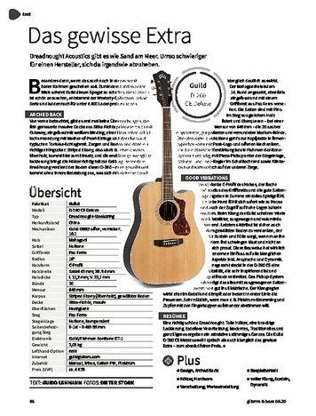 Gitarre & Bass Guild D-260 CE Deluxe