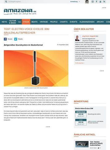 Amazona.de Electro-Voice Evolve 30M