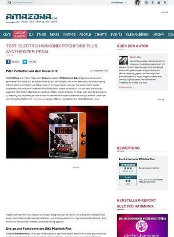 Amazona.de Electro Harmonix Pitchfork Plus