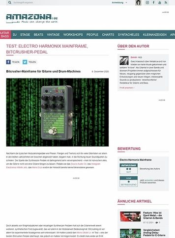Amazona.de Electro Harmonix Mainframe
