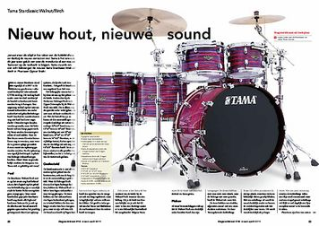 slagwerkkrant.nl Tama Starclassic Walnut Birch