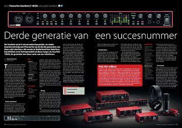 interface.nl Focusrite Scarlett 3 18i20