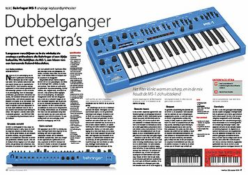 interface.nl Behringer MS-1