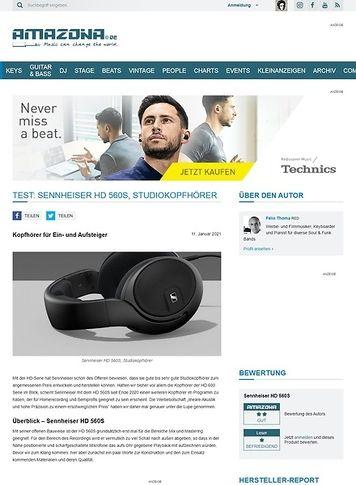 Amazona.de Sennheiser HD 560S