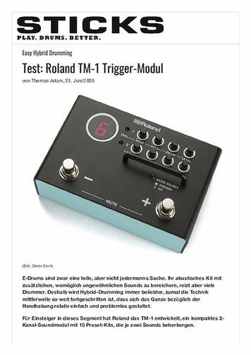 Sticks Roland TM-1 Trigger-Modul