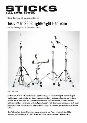 Sticks Pearl 930S Lightweight Hardware