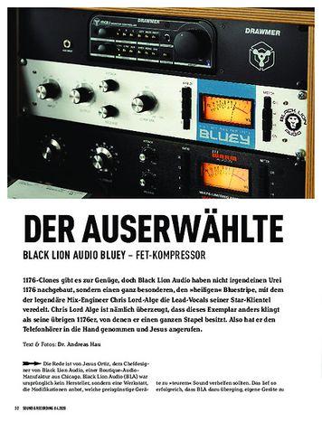 Sound & Recording Black Lion Audio Bluey