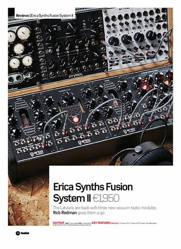 Future Music Erica Synths Fusion System II
