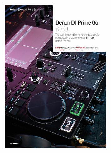 Future Music Denon DJ Prime Go