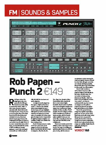 Future Music Rob Papen Punch 2