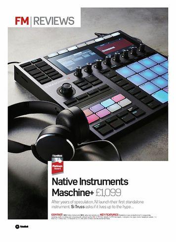 Future Music Native Instruments Maschine+