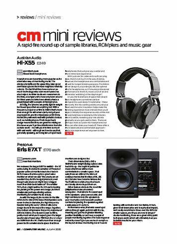 Computer Music Austrian Audio Hi-X55