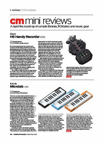 Computer Music Zoom H8 Handy Recorder