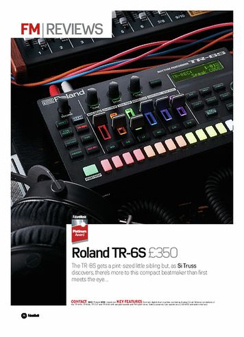 Future Music Roland TR-6S