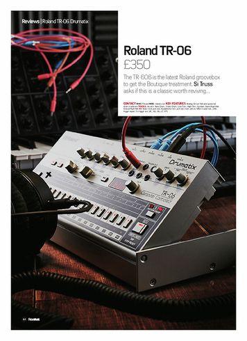 Future Music Roland TR-06