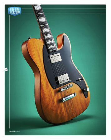 Total Guitar JOE DUPLANTIER SIGNATURE PRO-MOD SAN DIMAS STYLE 2 HH MAHOGANY