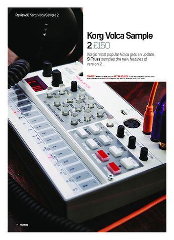 Future Music Korg Volca Sample 2