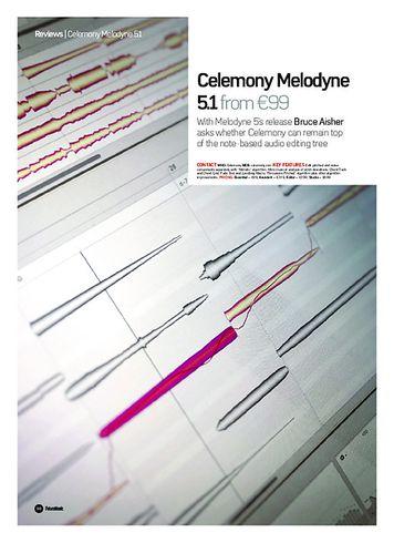 Future Music Celemony Melodyne 5.1