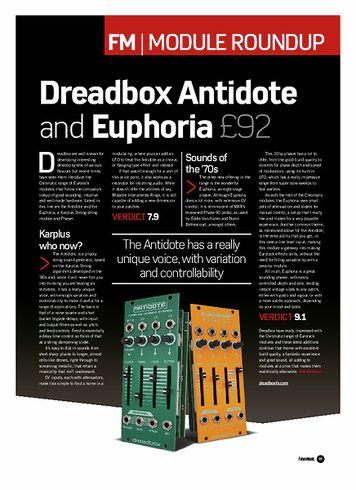 Future Music Dreadbox Euphoria