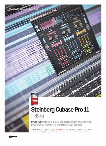 Future Music Steinberg Cubase Pro 11