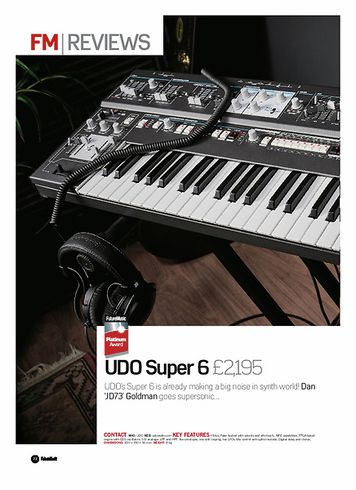 Future Music UDO Super 6