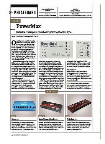 Guitarist EVENTIDE PowerMax