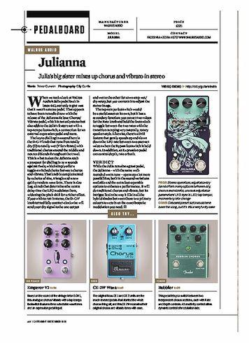 Guitarist WALRUS AUDIO JULIANNA