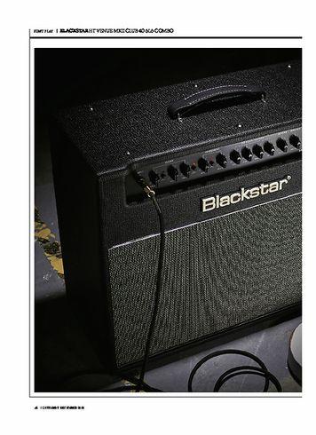 Guitarist BLACKSTAR HT VENUE MKII CLUB 40 6L6 COMBO